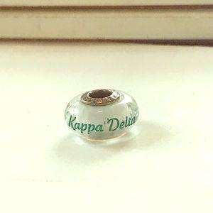 Kappa Delta Engraved Pandora Bead